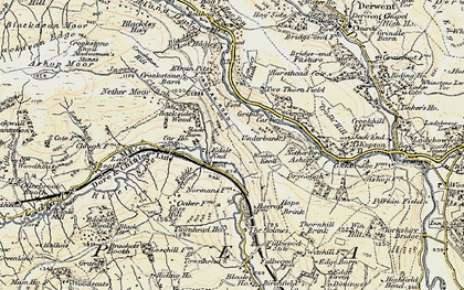 Old map of Woodlands Valley in 1903