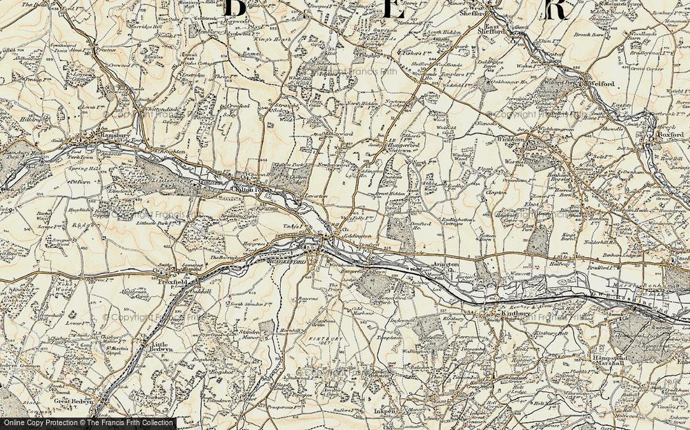 Eddington, 1897-1900
