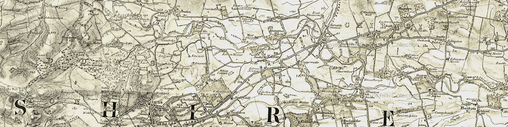 Old map of Whin Covert in 1901-1904