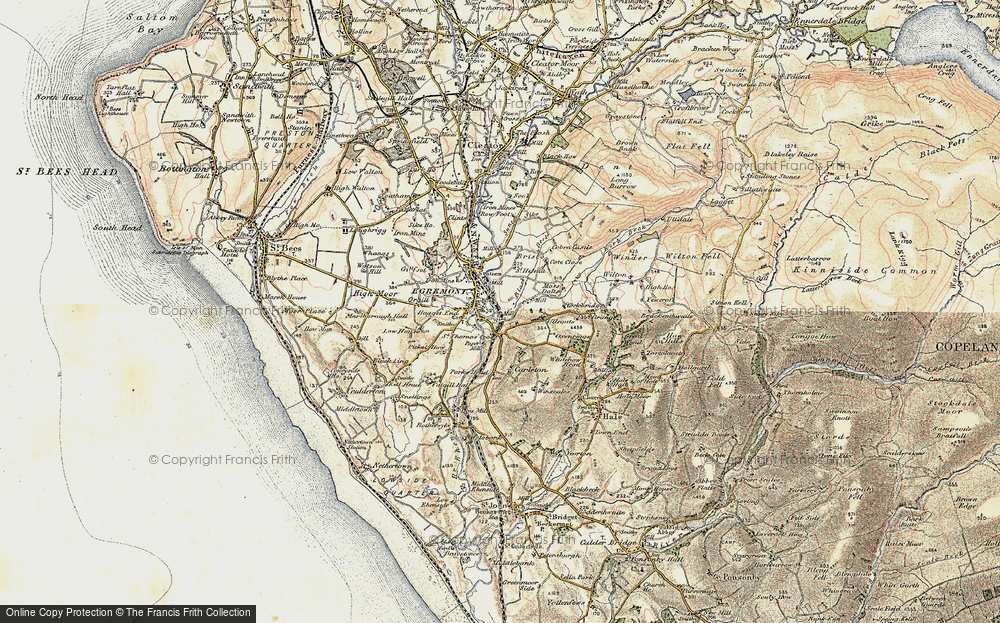 Old Map of Egremont, 1903-1904 in 1903-1904
