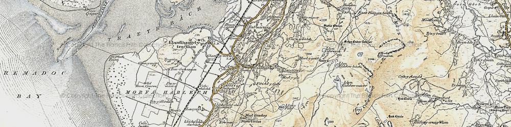 Old map of Eisingrug in 1903