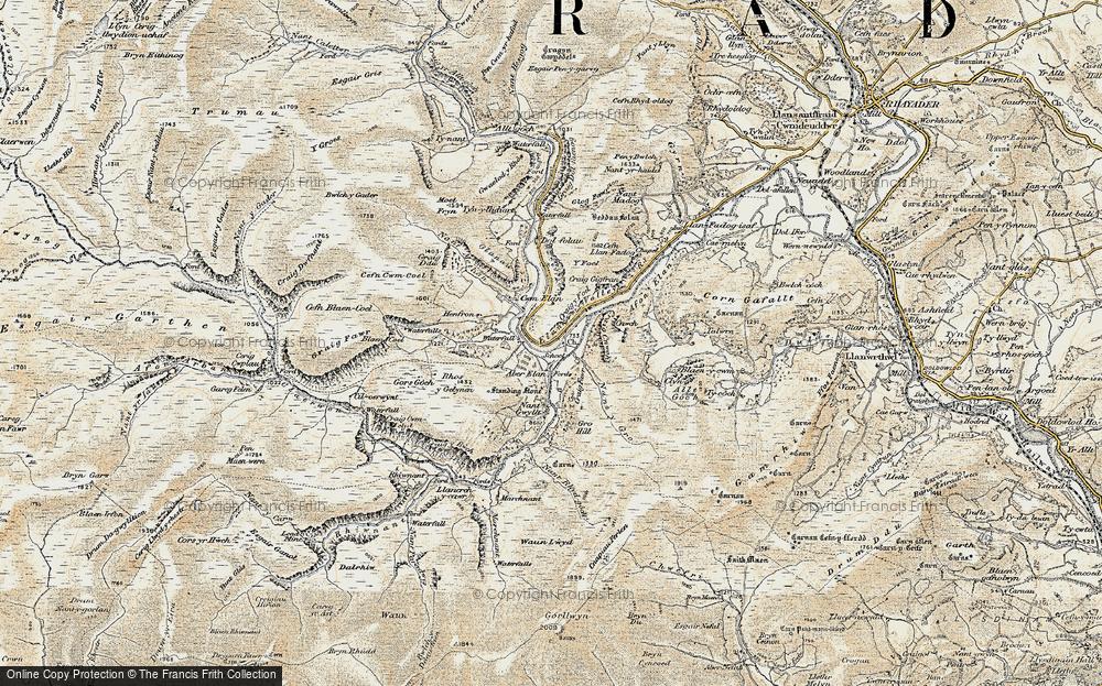 Elan Valley, 1900-1903