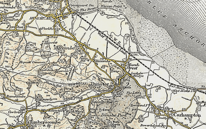 Old map of Aldersmead in 1898-1900