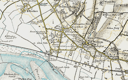 Old map of Elloughton in 1903-1908
