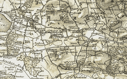 Old map of Westside in 1909