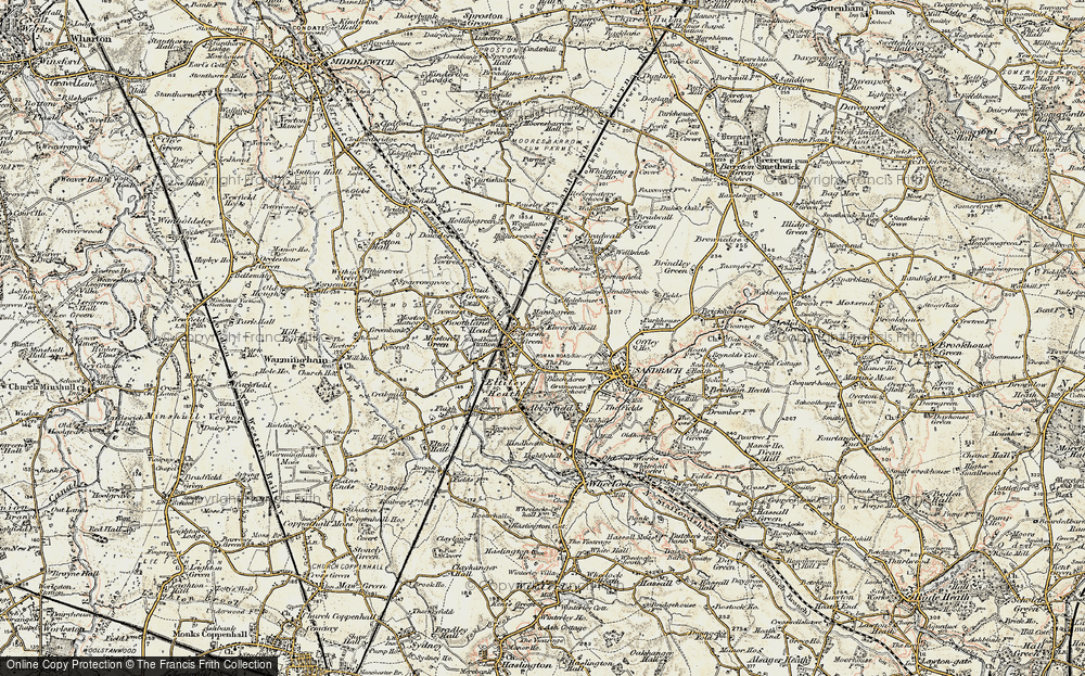 Old Map of Elworth, 1902-1903 in 1902-1903