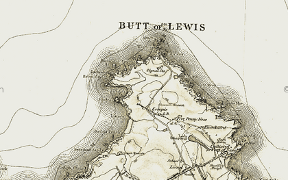 Old map of Bad an Fhithich in 1911