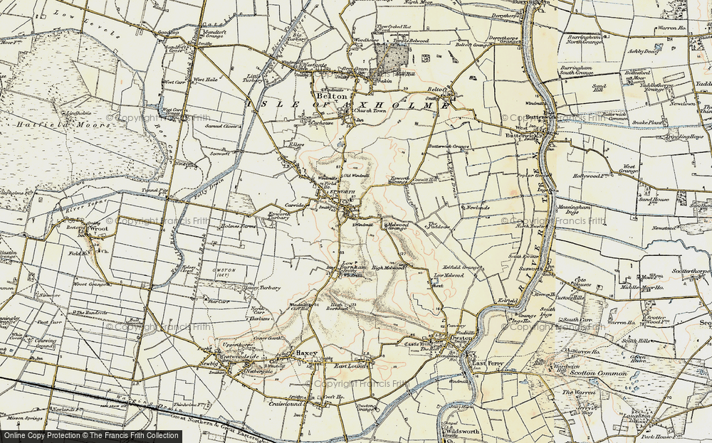 Old Maps of Epworth Francis Frith