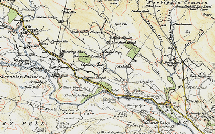 Old map of Ashdub in 1904