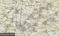 Map of Everton, 1898-1901