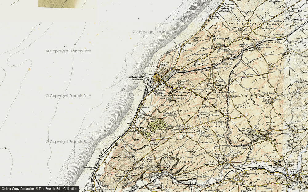 Old Map of Historic Map covering Balnakeil Forge in 1901-1905