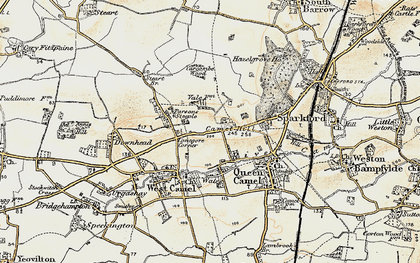 Old map of Yarcombe Wood in 1899