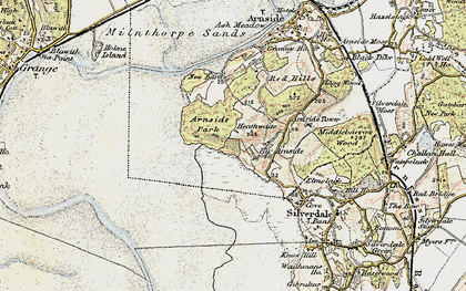 Old map of White Creek in 1903-1904