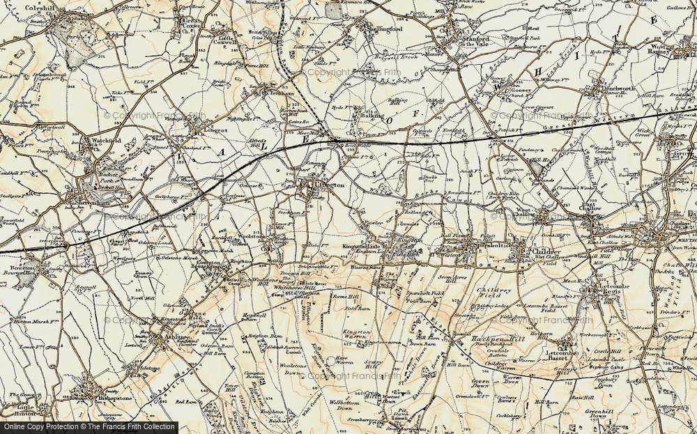 Old Map of Fawler, 1897-1899 in 1897-1899