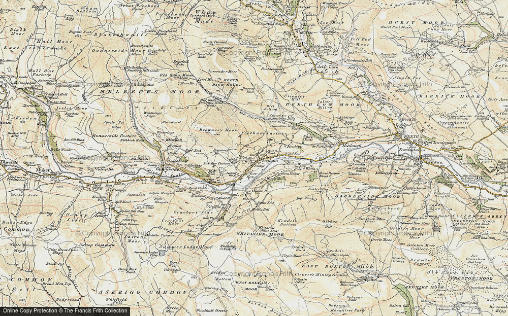 Old Map of Feetham, 1903-1904 in 1903-1904