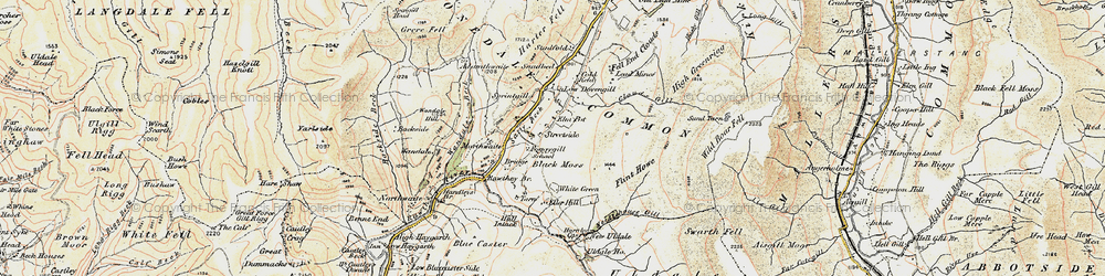Old map of White Green in 1903-1904