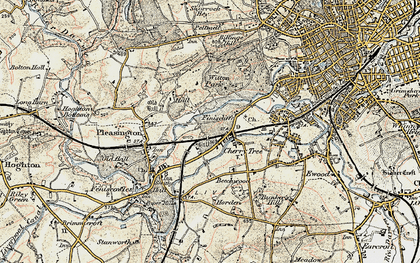 Old map of Witton Country Park in 1903