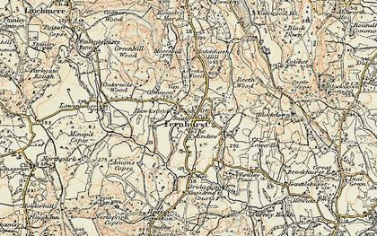 Old map of Fernhurst in 1897-1900