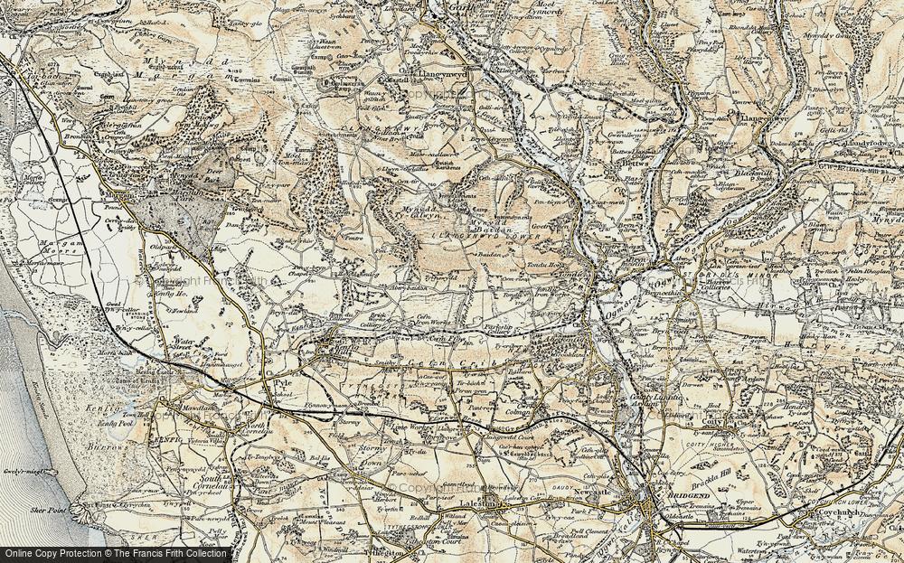 Ffordd-y-Gyfraith, 1900-1901