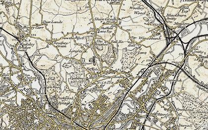 Old map of Fir Vale in 1903