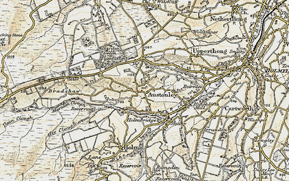 Old map of Wood Cottage in 1903
