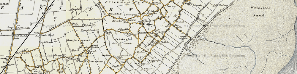 Old map of Abbey Hills (Earthworks) in 1901-1903