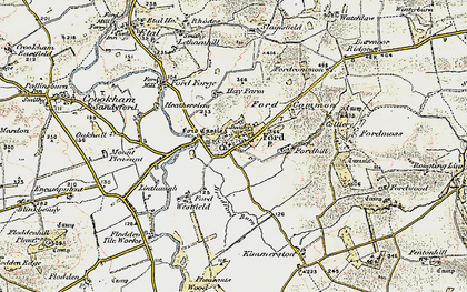 Old map of Ford in 1901-1903