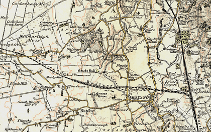 Old map of Whitters Hill in 1903-1904
