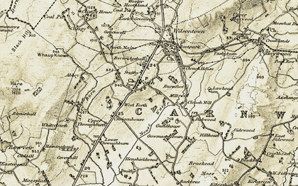 Old map of Forth in 1904-1905