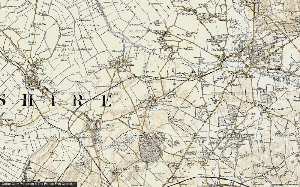 Freckenham, 1901