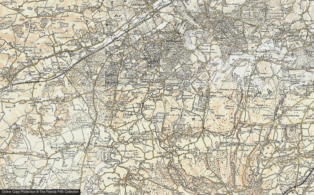 Frensham, 1897-1909