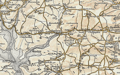Old map of Frogmore in 1899