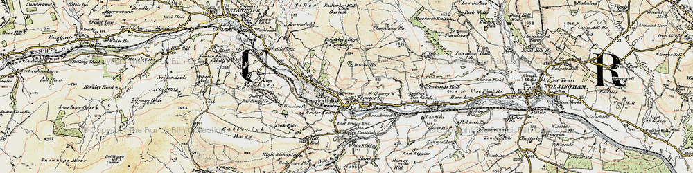 Old map of West Newlands in 1901-1904