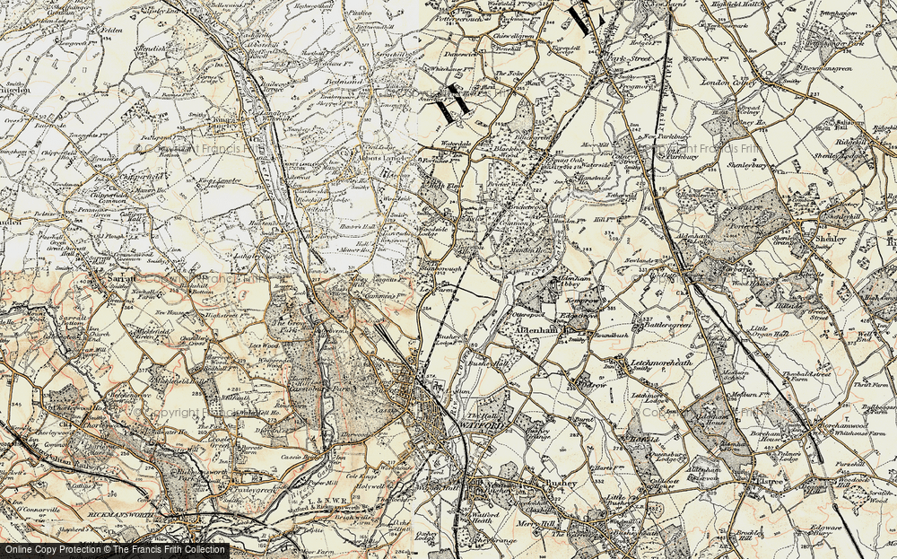 Old Map of Garston, 1897-1898 in 1897-1898