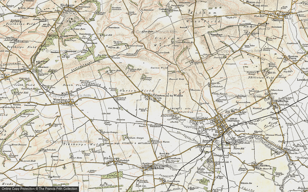 Old Maps of Garton-on-the-Wolds - Francis Frith