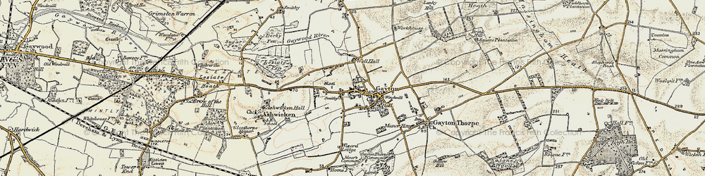 Old map of Wizard Lodge in 1901-1902