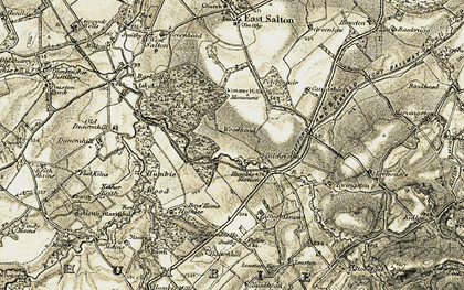 Old map of Leehouses in 1903-1904