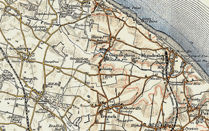 Old map of Gimingham in 1901-1902