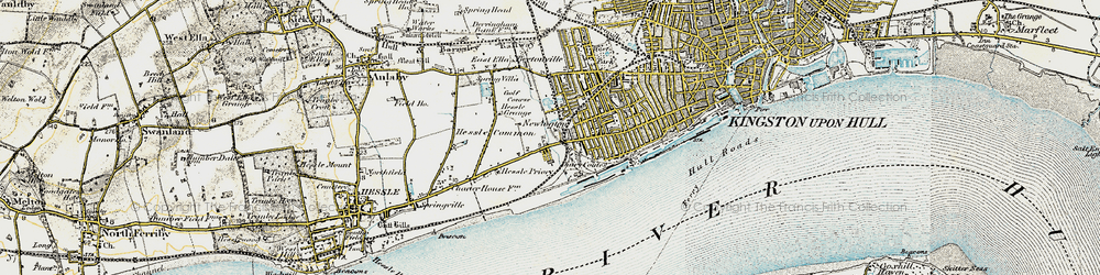 Old map of Gipsyville in 1903-1908