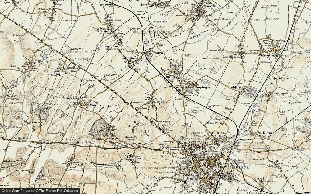 Girton, 1899-1901