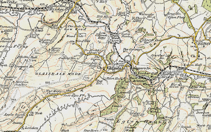 Old map of Glaisdale in 1903-1904