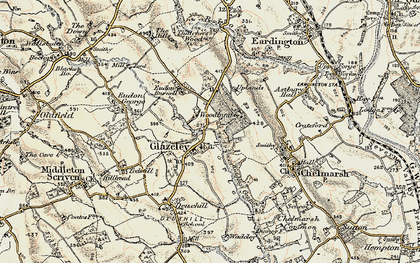 Old map of Woodlands in 1902