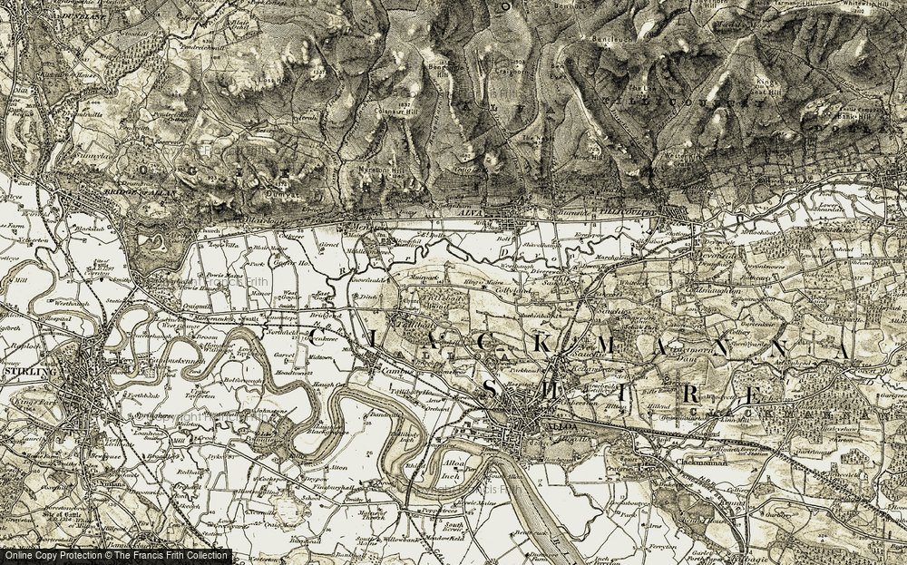Glenochil Village, 1904-1907