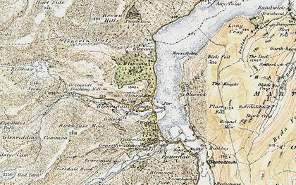 Old map of Westside in 1901-1904