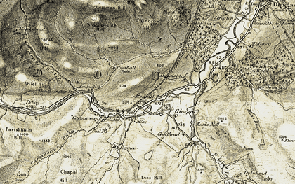 Old map of Windrow Hill in 1904-1905