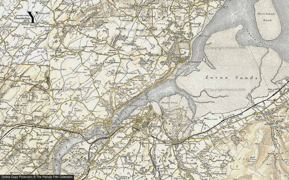 Old Map of Glyngarth, 1903-1910 in 1903-1910