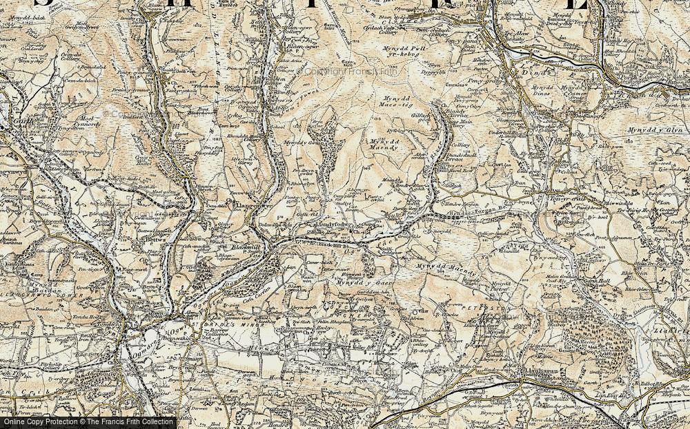 Glynogwr, 1899-1900