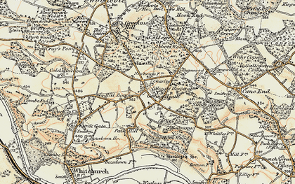 Old map of Almhouses, The in 1897-1900