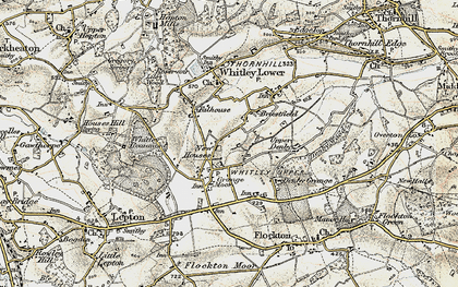 Old map of Whitley Park in 1903