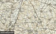 Map of Graveley, 1898-1901